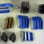 Photo 6 type brushes Metal , Copper , Nylon